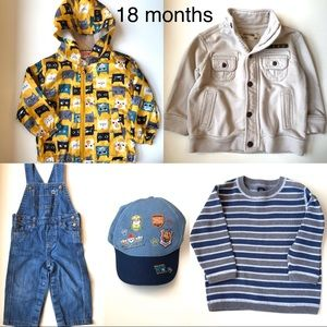 Boys 18mo Mix'n'Match 5 Piece Collection